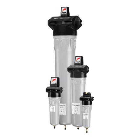 Filtros de aire comprimido 1-11 HE/2F-9F HE