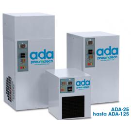 Secadores refrigerativos no cíclicos de alta temperatura ADA 25-125 Pneumatech