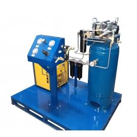 Sistemas de amplificación de aire Haskel