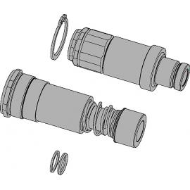 Multi-X acoplamientos y espigas CEJN