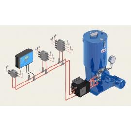 Sistema de lubricación automática de doble línea