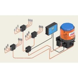Sistema progresivo de lubricación automática